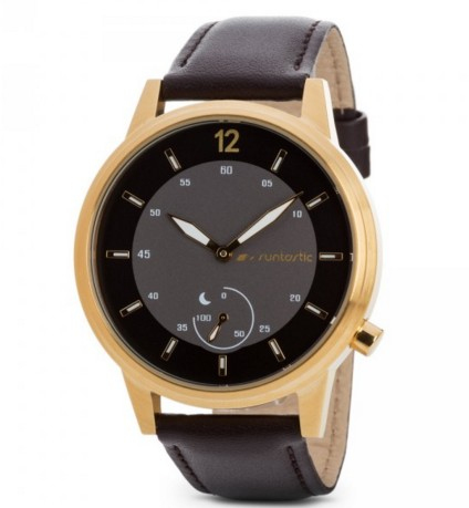 Runtastic Moment Classic Gold Smart Watch