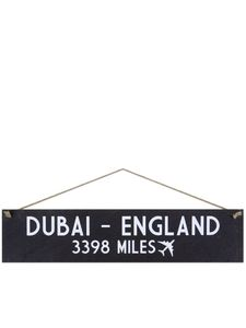 I Want It Now England Wooden Location Sign