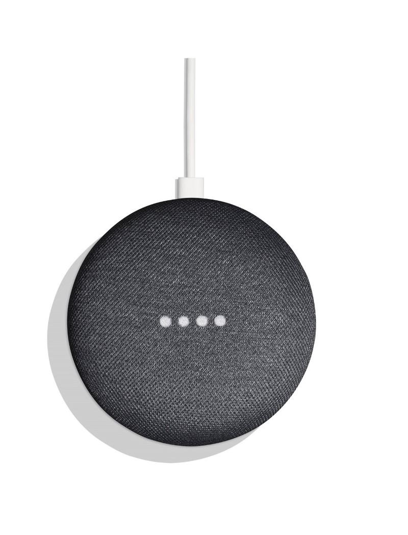 Google Chromecast Ultra + Google Home Mini Charocal