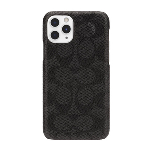 Coach Slim Wrap Case Signature C Black for iPhone 11 Pro