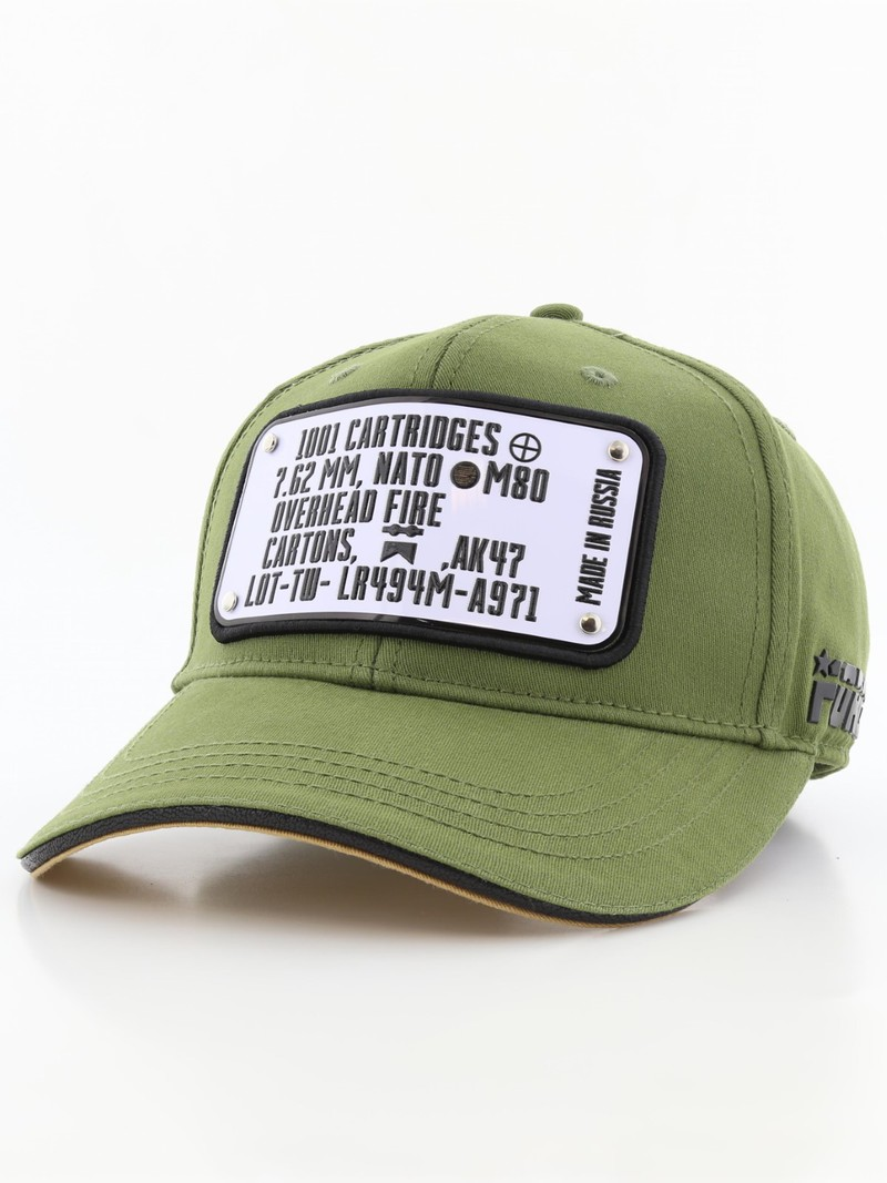 Raqam Army Ammo Cans Plate No. Amo Model 1 Army Green Unisex Cap ... 900d8d76a86