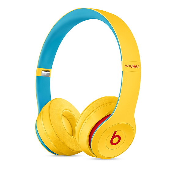 Beats Solo3 Club Collection Club Yellow Wireless Headphones