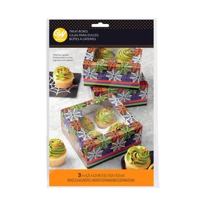 Wilton Hal Web Cupcake Box 4Cav [Pack of 3]