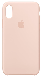 APPLE SILICONE CASE PINK SAND FOR IPHONE XS