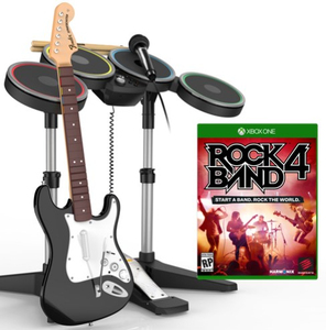 Madcatz Rock Band 4 Band In A Box Software Bundle Black Xbox One