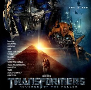 Transformers Revenge Of The Fallen The Album Ost