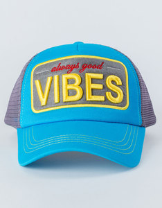 B180 Always Good Vibes Blue/Grey Cap