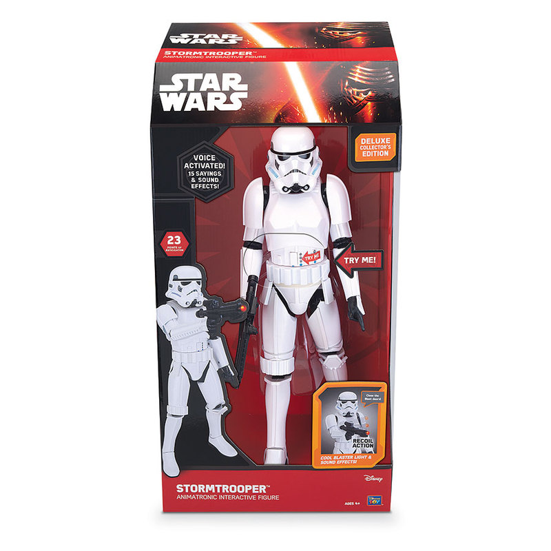 "Star Wars Animated Classic Stormtrooper 17"" Figure"