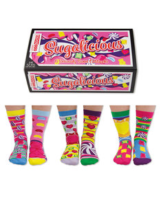 United Oddsocks Sugalicious Girls Socks  [3 Pairs]