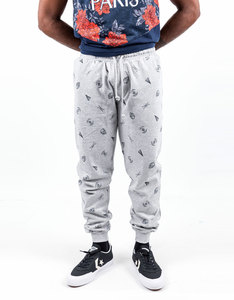 Dedicated Star Wars Space Ships Grey Melange Jogger Pants