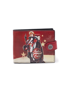 Fallout 4 Nuka Cola Bifold Wallet
