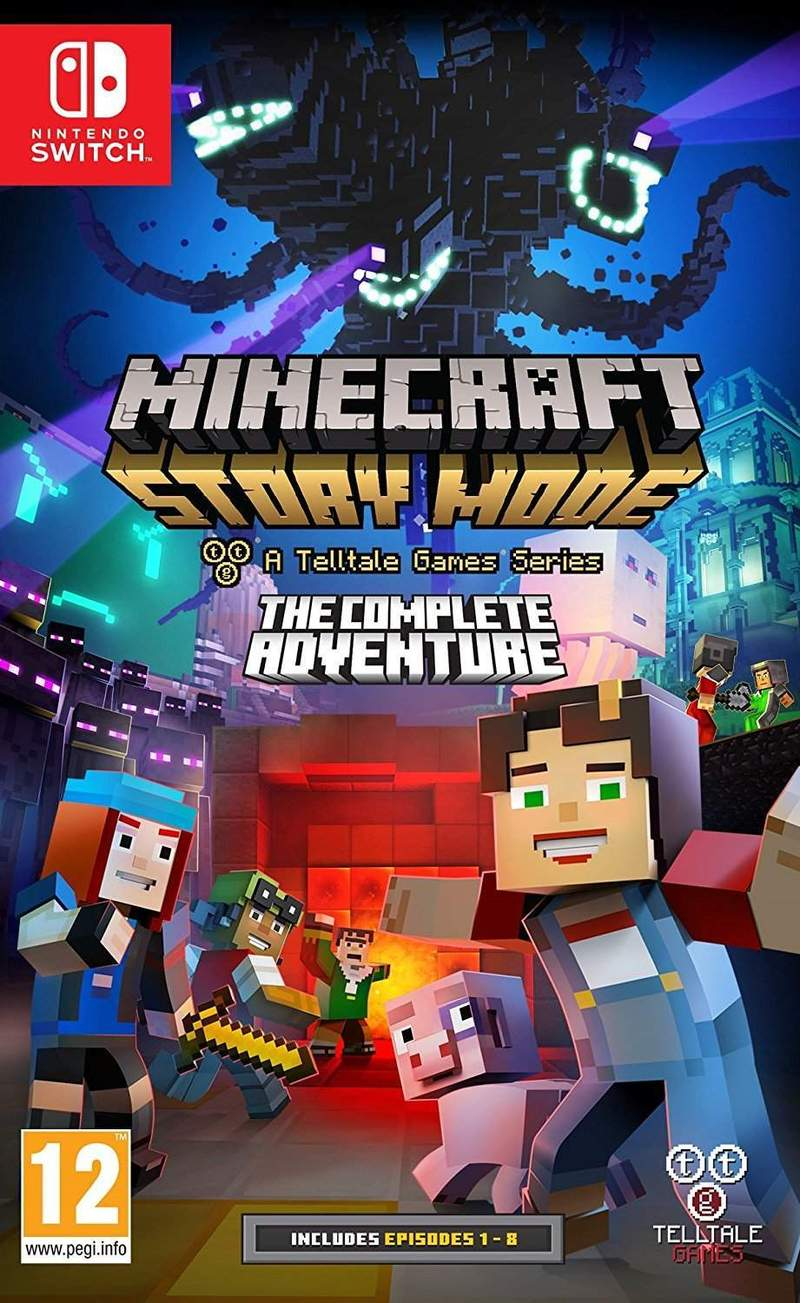 minecraft story mode a telltale games series the complete adventure games nintendo. Black Bedroom Furniture Sets. Home Design Ideas
