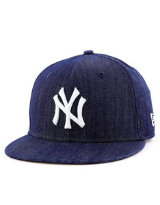 New Era League Basic NY Yankees Navy/White Cap Youth