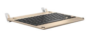 Brydge Aluminium Bluetooth Keyboard Gold for iPad [5th Gen]
