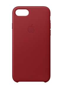 Apple Leather Case Red for iPhone 8/7