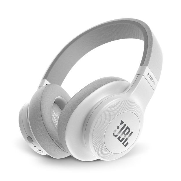 Jbl E55 White Bluetooth Over Ear Headphones On Ear Headphones