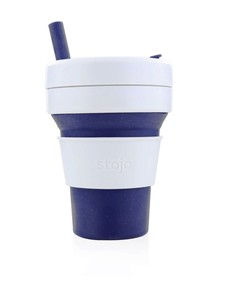 Stojo Biggie Cup Indigo Dark Blue 470 Ml