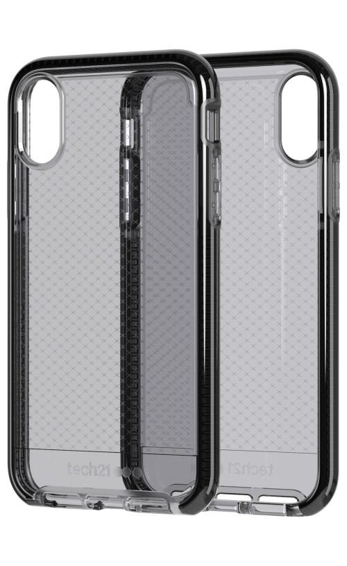 Tech21 Evo Check Case Smokey/Black for iPhone XR