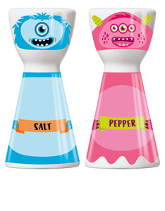 Ritzenhoff Mr. Salt & Mrs. Pepper Santiago Sevillano Salt & Pepper Mill Set