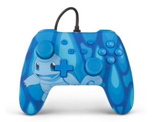 PowerA Squirtle Torrent Gamepad Nintendo Switch Analogue/Digital USB Blue