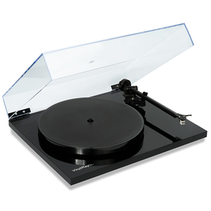 Flexson Vinylplay Black Wireless Analogue to Digital Turntable-Line Out