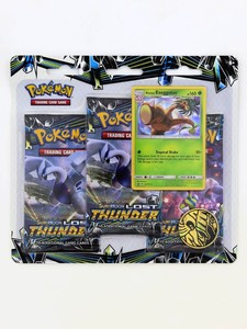 Pokemon TCG SM8 Lost Thunder 3-Pack Blisters