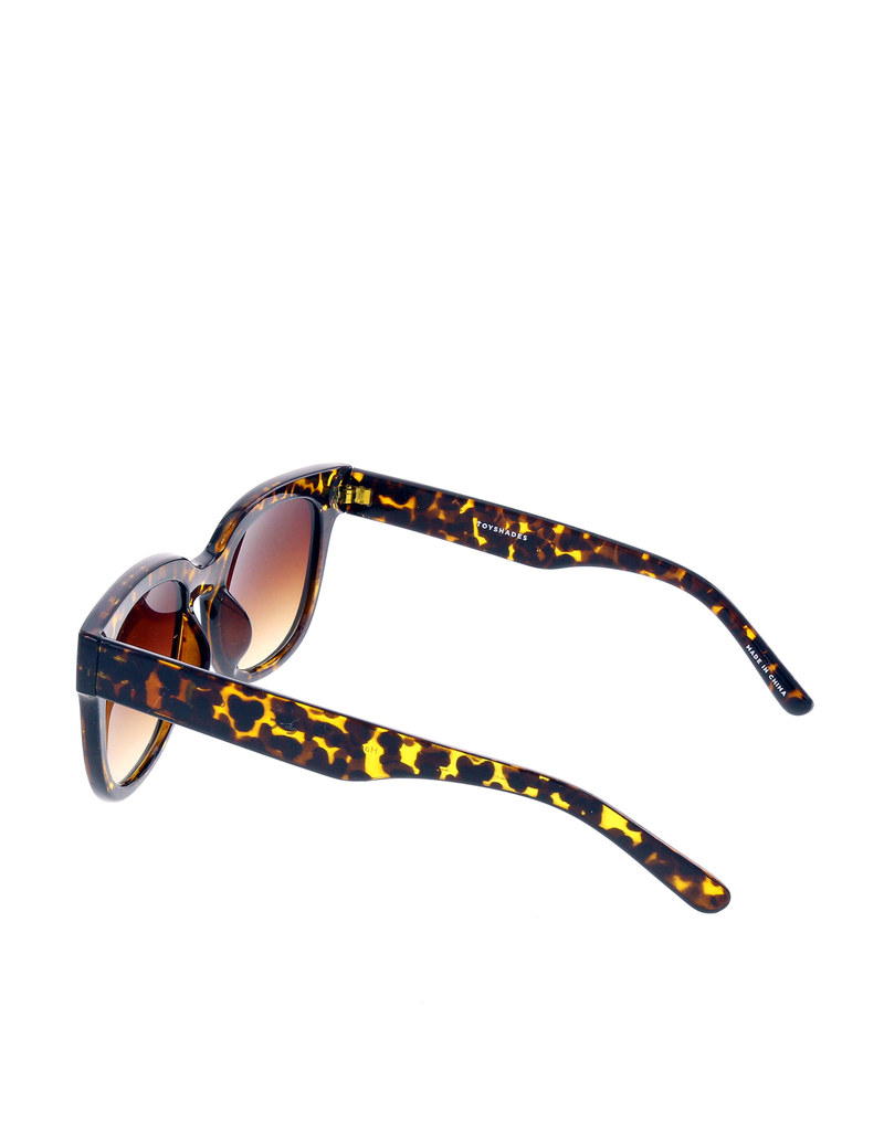 Toy Shades Massey Amber Tortoise With Amber Lens Sunglasses