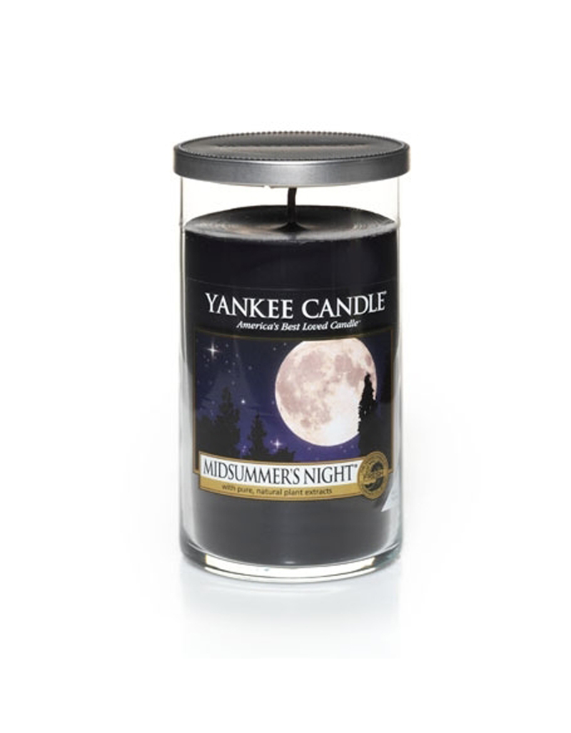 Yankee Candle Decor Medium Pillar Midsummer Night