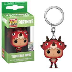 Funko Pop Games Fortnite S2 Tricera Ops Vinyl Keychain