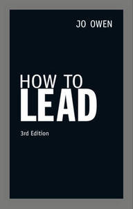 How To Lead 3Rd Ed
