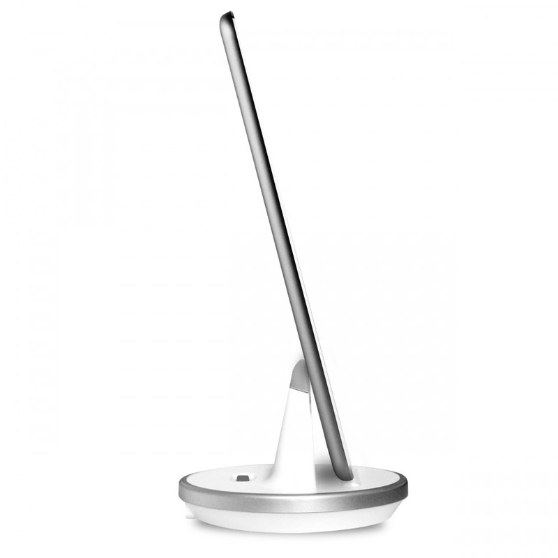 Puro Desk Stand W/Lightning & Micro Cable White