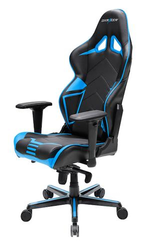 Awesome Dxracer Racing Series R131 Black Blue Gaming Chair Gaming Chairs Gaming Accessories Gaming Virgin Megastore Andrewgaddart Wooden Chair Designs For Living Room Andrewgaddartcom