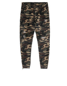 Cayler & Sons Bl Moto Distressed Woodland Jogger Pants