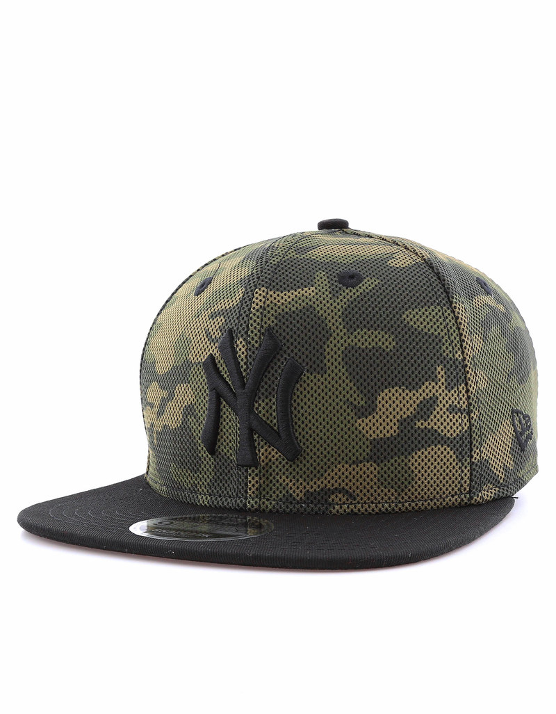 new era mesh overlay ny yankees camo cap caps beanies. Black Bedroom Furniture Sets. Home Design Ideas