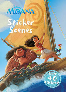 Disney Moana Sticker Scenes: Over 40 Stickers!