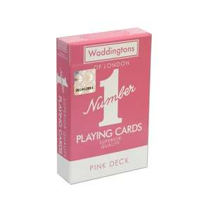 WADDINGTON'S PLAYING CARDS NO.1 PINK DECK