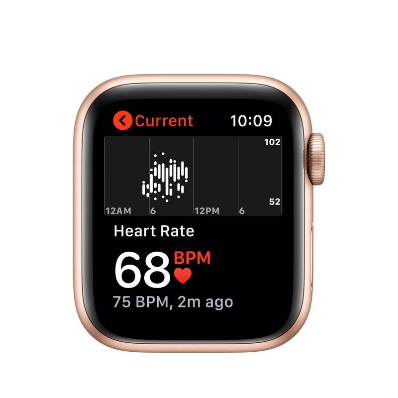 Apple Watch Series 5 GPS 40mm Gold Aluminium Case with Pink Sand Sport Band