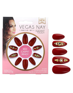 Elegant Touch Vegas Nay Red Carpet Ready Nails