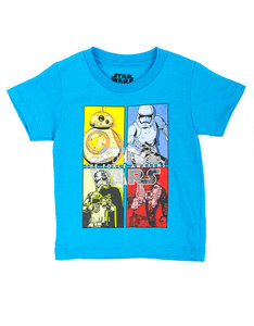 Mad Engine Star Wars Primary Secondary Turquoise Toodler T-Shirt