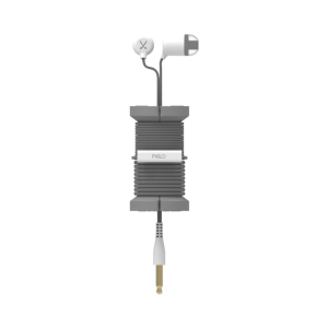 Philo Spool Metal Space Grey Earphones with Mic & Cable Organizer