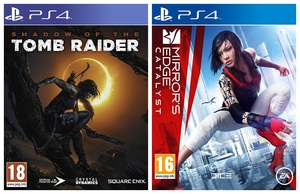 Shadow of the Tomb Raider + Mirror's Edge: Catalyst [Bundle]