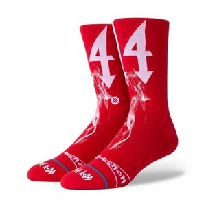 Stance Trippie Unisex Socks Red