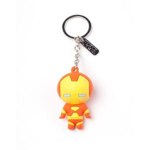 Difuzed Iron Man Character 3D Rubber Keychain