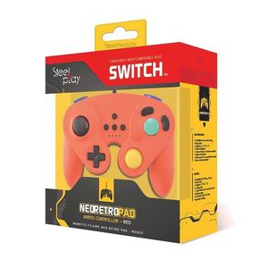 Steelplay Neo Retro Red Wired Controller for Nintendo Switch