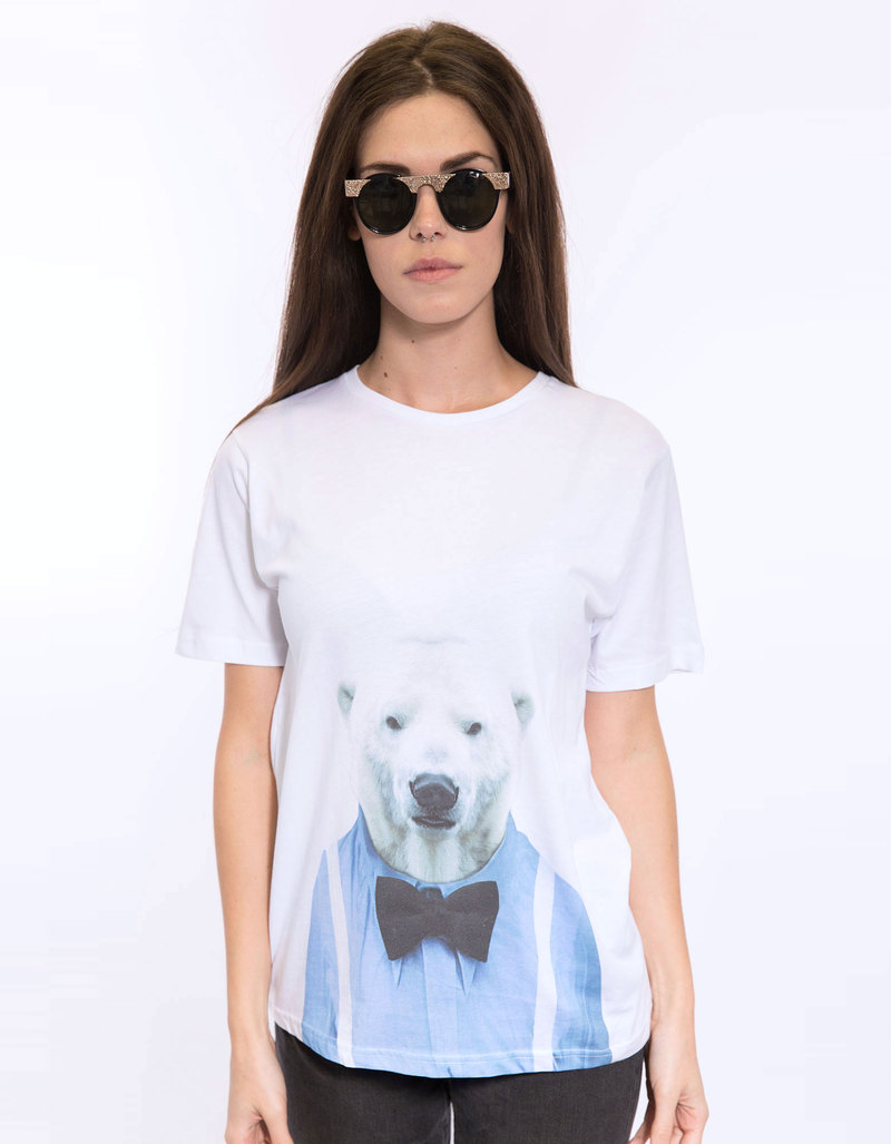 Saint Noir Polar Bear Men'S T-Shirt S