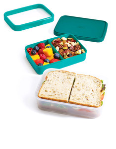 Joseph Joseph GoEat 2-In-1 Lunch Box Teal