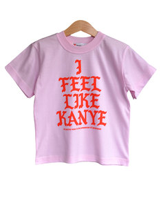 Nippaz With Attitude I Feel Like Kanye Pink/Red Kids T-Shirt