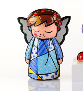 Romero Britto Mini Angel Figurine