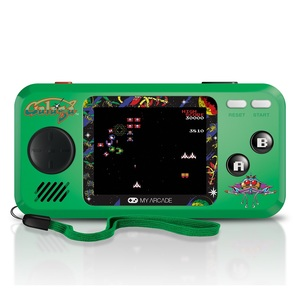 My Arcade Galaga Pocket Player Green