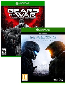 Gears Of War: Ultimate Edition + Halo 5: Guardians [Bundle]